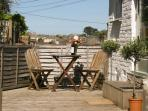 Sun trap of a terrace