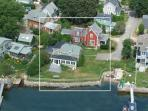 Exterior Aerial (Grey House)