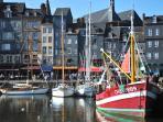 Honfleur old harbour