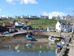 Nearby St Abbs Harbour. Famous diving site. Great cafe, crab sandwiches lovely!