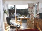 The Burrow is a self contained apartment attached to a family home with its own private garden area.