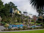 Portmeirion to visit and enjoy Clough Williams-Ellis's dream village.
