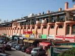 El Zoco - commercial centre with lots of restaurants, bars and shops a 15-20 min walk/5 min drive