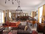 Sumptuous living/dining room
