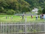 Park with Tennis courts, Pitch & Putt and Playground