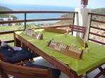 A Shady Retreat to the Balcony