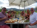 Lunch at Bramon Vineyard