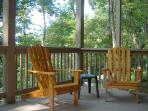 Seating on Covered Deck off Gameroom