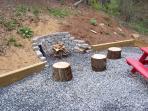 Fire pit & picnic area