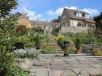 Garden view of Manton Lodge Self Catering Apartments