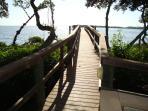 Pier with Access to Sarasota Bay
