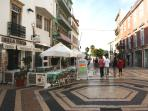Old shopping mall of Faro 'Rua St Antonio' in 2 Minutes walking distance