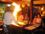 Japanese dining at Samisen in Coral Bay