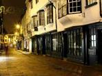 York at night