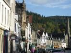 Peebles award winning High Street