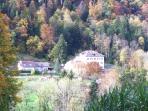 Le hameau de La Mothe : calme et nature