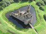Caerlaverock Castle, just a short drive from the cottage, i am sure you will agree it is unique.