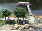 Boat trips at Crozan
