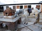 After a ride you need a drink too?  The boutiqe hotel/ bar,/ restaurant/ stables is nearby: