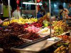 Hua Hin night market - fruit stall [5 minutes drive]