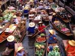 Hua-Hin floating market [45 mins driving]