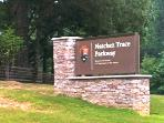 nearby Natchez trace Parkway
