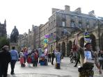 Royal Mile - few minutes from house