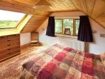 Pheasant Cottage's cosy double bedroom