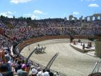 Chariot race at Le Puy du Fou history theme park at 45 minutes