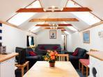 First Floor Open Plan sittingroom/diner