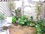 Millgate Cottage Enclosed Patio Garden