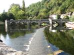 Beautiful Brantome is nearby