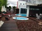 Zonas das piscinas