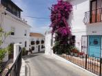Views of streets in Mijas