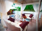 An area to relax and unwind both day and night