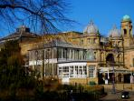 Buxton's Opera House - a 10 minute walk across the park from The Servants' Quarters