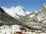 Location in the valley - Winter