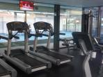 Gym with the View for Swimming pool