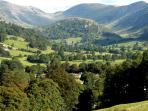 The unspoilt Troutbeck valley