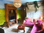 living room gîte 'Hua Hin'