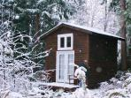 Guest cabin 2 in winter