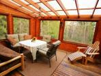 Fully screened sun porch