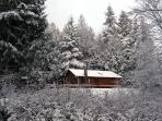 Landhaus Quilcene in winter