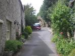 Situated in a quiet lane leading to the church