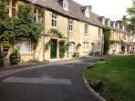 The old market town of Stow on the Wold