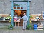 Hay on Wye has great, independent shops- and a wonderful market too