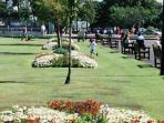Lowther Gardens Lytham's formal park, bowls, tennis, putting childrens play area, cafe & theatre