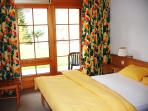 Double bedrooom of les Naturelles apartment