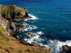 The fabulous Southcoast. Miles of coastal paths to explore.