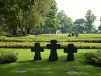 A lovely & very moving local 2nd World War, German cemetry